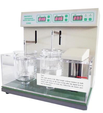 Determinar el tiempo que requiere una tableta en desintegrarse en un medio líquido. Volumen del vaso: 1 L. Frecuencia (arriba/abajo): 30-32 veces/min