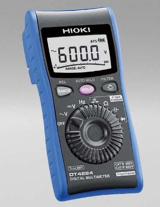 Funcion de prevencion de falsos viajes para mejorar las pruebas de seguridad, capacitancia y funciones de prueba de diodos. DC y AC 600.0 mV a 600.0 V
