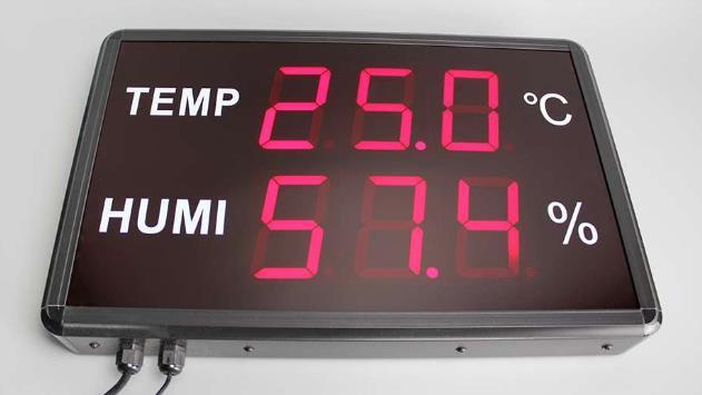 Con sensor de temperatura de humedad integrado y sensores externos de temperatura y humedad.Rango de temperatura -40°C~+85°C Rango de humedad 0~100%