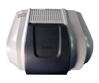 Interferometro: Ajuste dinamico continuo de hasta 130 000 veces por segundo. Intervalo de longitud de onda: 7800 – 350 cm-1. Resolucion 0.5 cm-1.