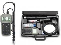 Portátil. Electrodos CAL Check™ le alerta sobre posibles problemas de calibración. Carcasa impermeable IP67. Sonda clasificación IP68. Registra h