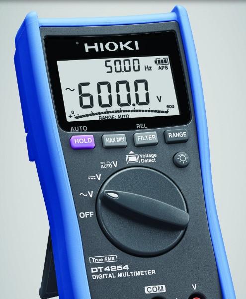 Solo mide voltaje diseñado para medir modulos fotovoltaicos y objetivos de alto voltaje de hasta 1700 V CC. Rango de frecuencia 99,99 Hz a 99,99 kHz