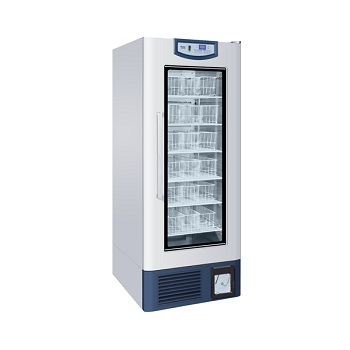 Refrigerador de banco de sangre. Modelo HXC-608 Marca Haier Capacidad: 608 L. 300 bolsas sangre. Temperatura: 2 - 6°C. Dim. Internas: 680 x 640 x 140